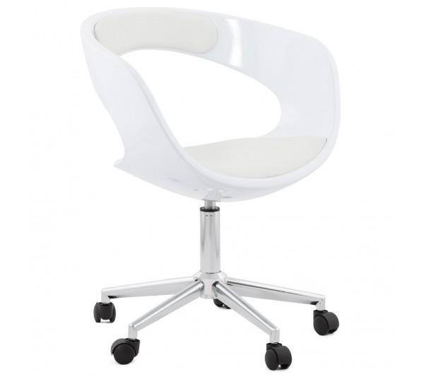 Kokoon Design - Krzesło Biurowe Felix Białe