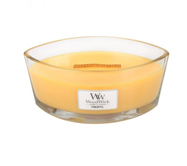 WoodWick Świeca Heartwick Flame - Pineapple
