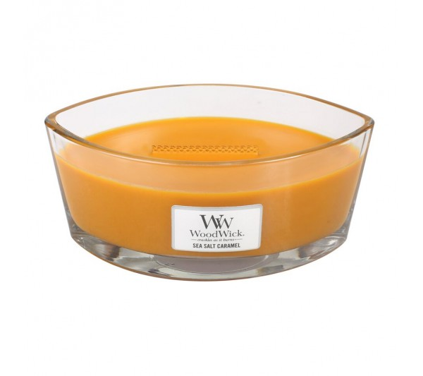 WoodWick Świeca Heartwick Flame - Sea Salt Caramel