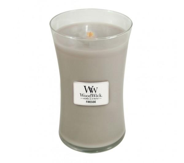 WoodWick Duża Świeca - Fireside
