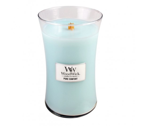 WoodWick Duża Świeca - Pure Comfort