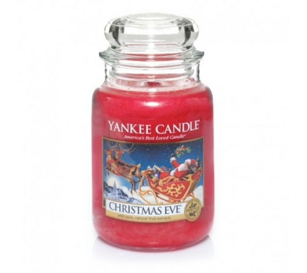 YANKEE CANDLE - Duża Świeca Christmas Eve