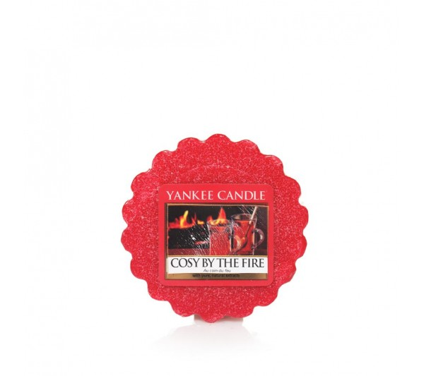 YANKEE CANDLE - wosk Cosy By The Fire