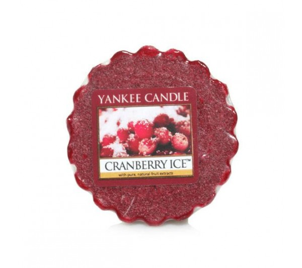 YANKEE CANDLE - wosk Cranberry Ice