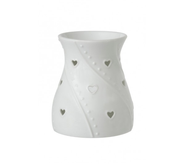 YANKEE CANDLE - Kominek do wosków White Hearts