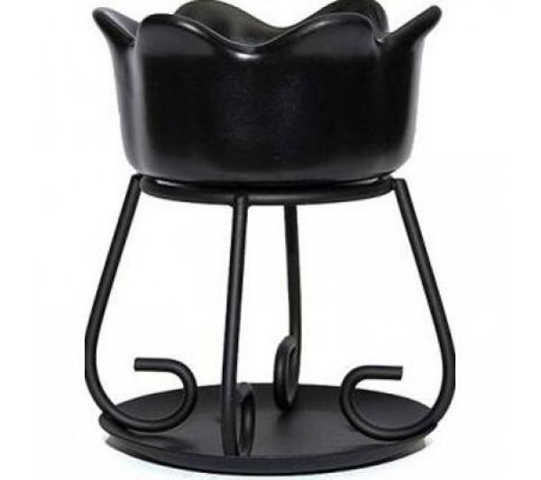YANKEE CANDLE - kominek Petal bowl czarny
