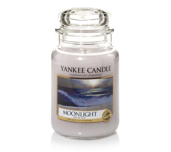 YANKEE CANDLE - Duża Świeca Moonlight