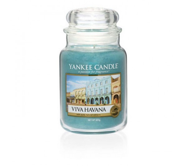 YANKEE CANDLE - Duża Świeca Viva Havana