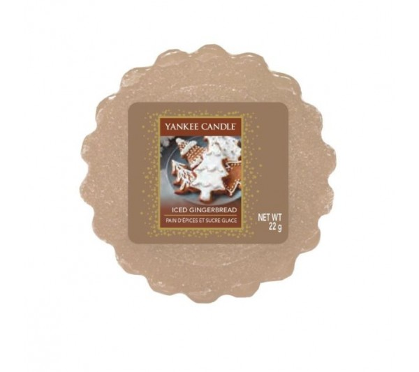 YANKEE CANDLE - wosk Iced Gingerbread