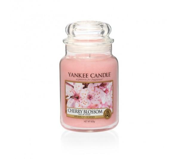 YANKEE CANDLE - Duża Świeca Cherry Blossom