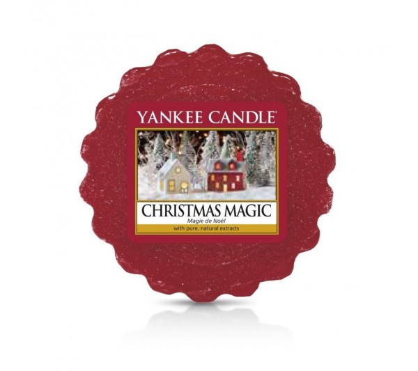 YANKEE CANDLE - wosk CHRISTMAS MAGIC