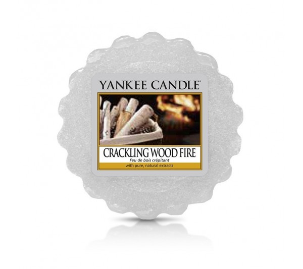YANKEE CANDLE - wosk Crackling Wood Fire
