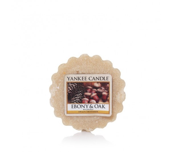 YANKEE CANDLE - wosk Ebony & Oak
