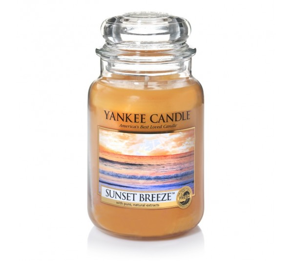 YANKEE CANDLE - Duża Świeca Sunset Breeze