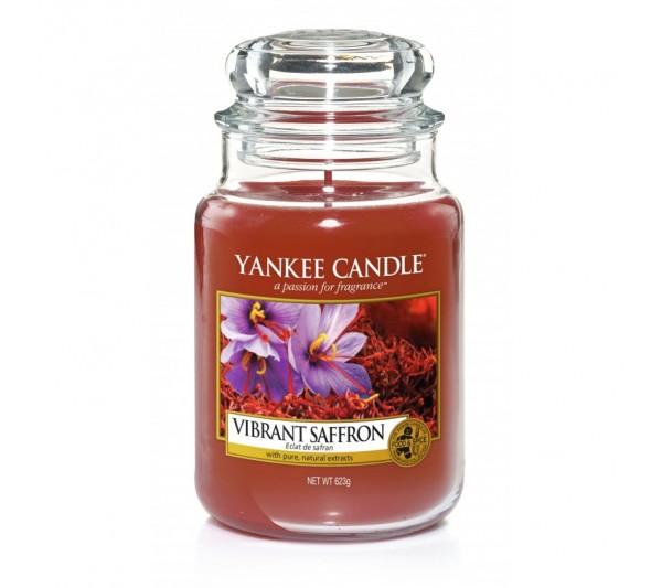 YANKEE CANDLE - Duża Świeca Vibrant Saffron