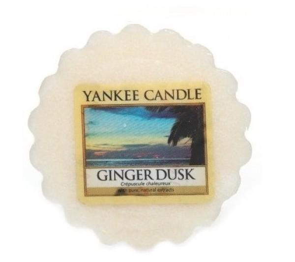 YANKEE CANDLE - wosk Ginger Dusk