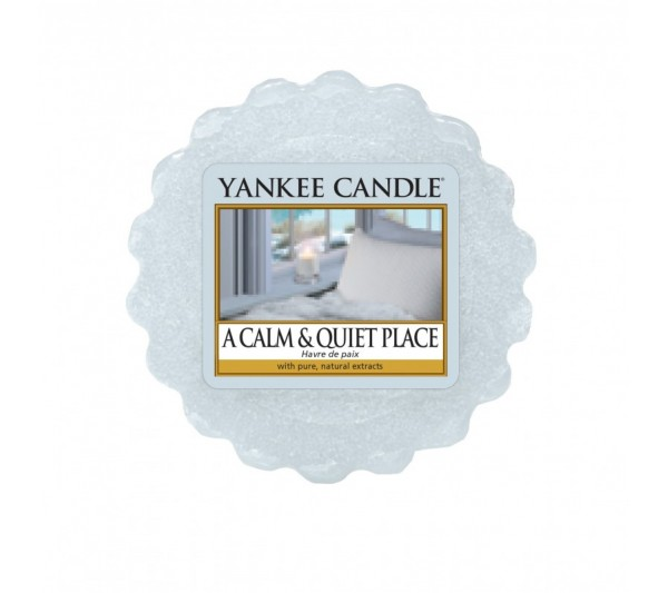 YANKEE CANDLE - wosk A Calm & Quiet Place