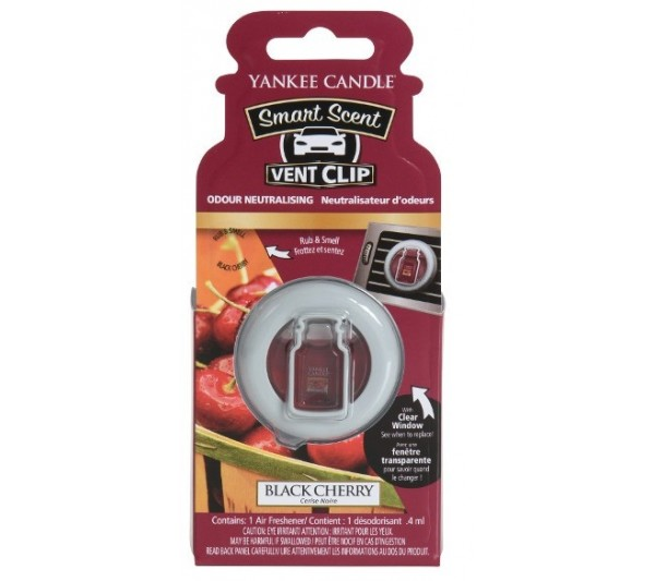 YANKEE CANDLE - car vent clip Black Cherry