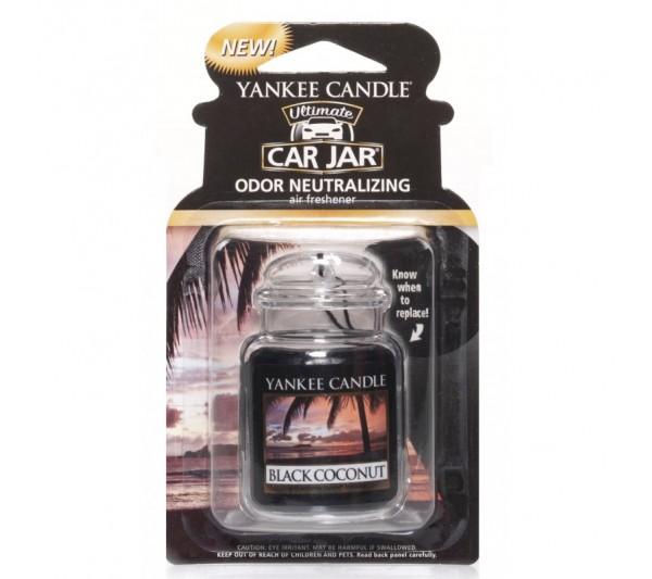 YANKEE CANDLE - car jar® ultimate Black Coconut