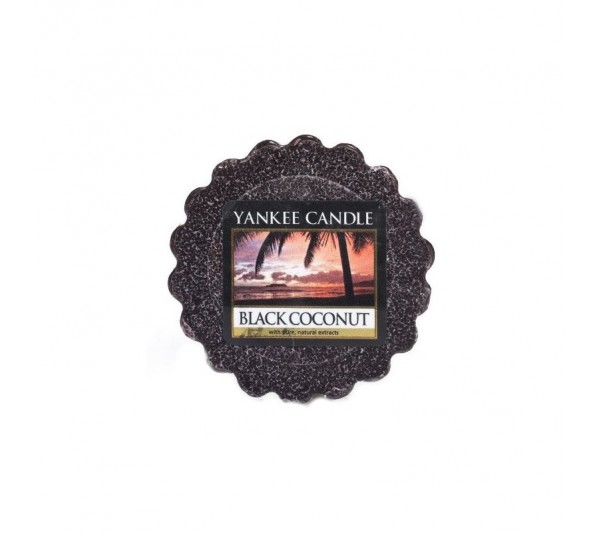 YANKEE CANDLE - wosk Black Coconut