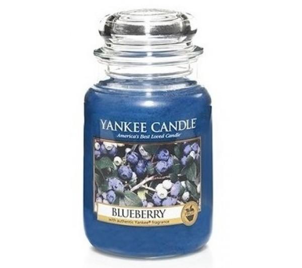 YANKEE CANDLE - Duża Świeca Blueberry