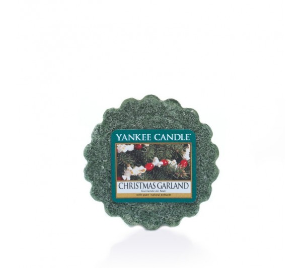 YANKEE CANDLE - wosk Christmas Garland