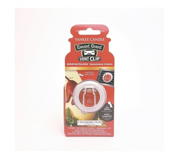 YANKEE CANDLE - car vent clip Cranberry Pear