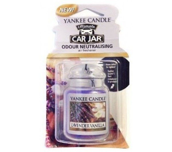 YANKEE CANDLE - car jar® ultimate Lavender Vanilla