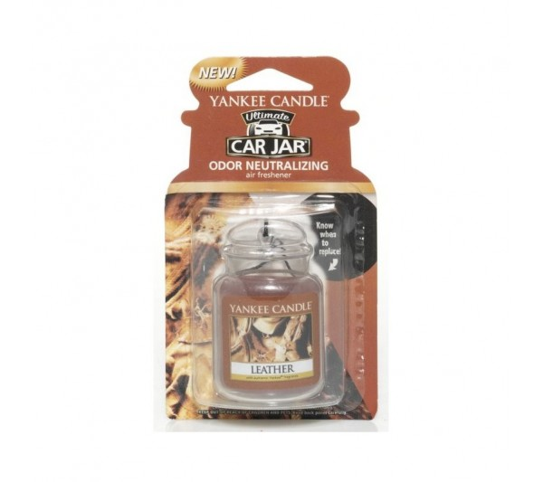 YANKEE CANDLE - car jar® ultimate Leather