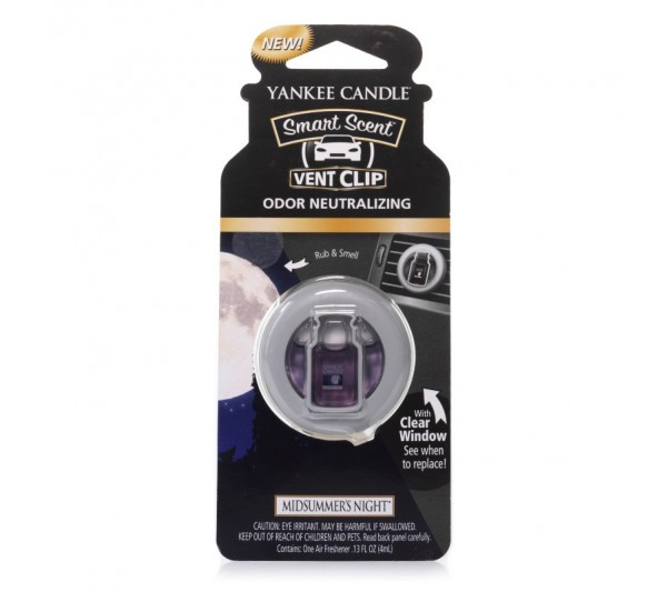 YANKEE CANDLE - car vent clip Midsummer's Night®