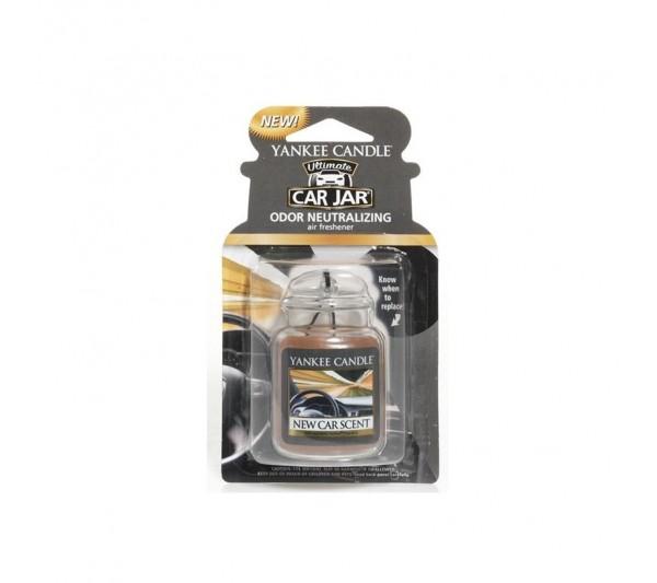 YANKEE CANDLE - car jar New Car Scent