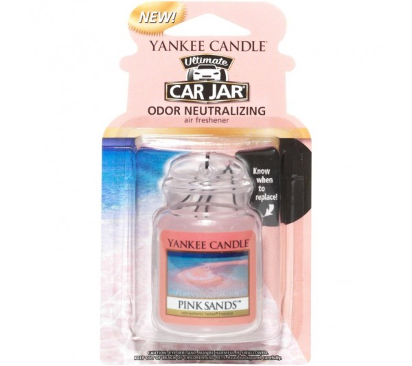 YANKEE CANDLE - car jar® ultimate Pink Sands