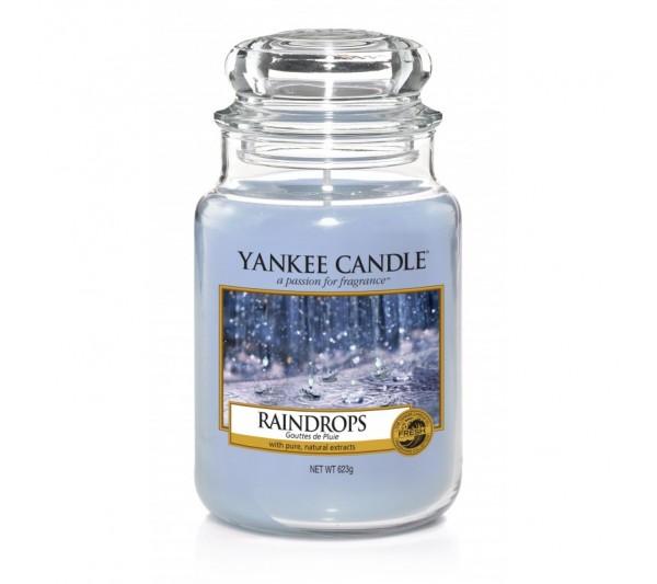 YANKEE CANDLE - Duża Świeca Raindrops