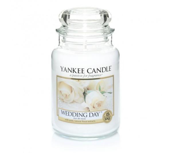 YANKEE CANDLE - Duża Świeca Wedding Day