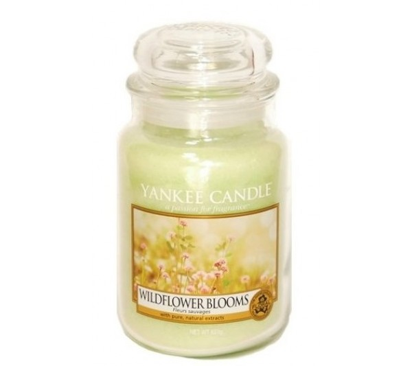 YANKEE CANDLE - Duża Świeca Wildflower Blooms