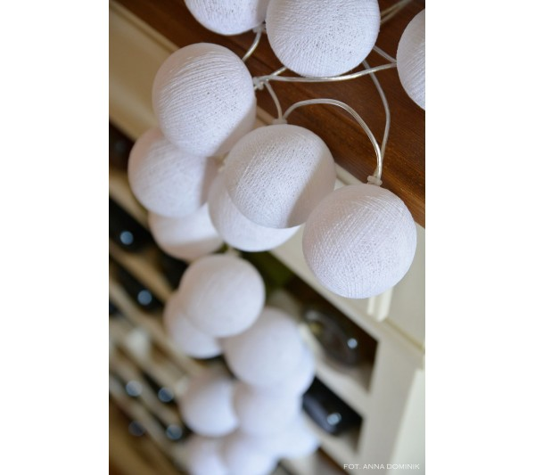 Cotton Ball Lights - Pure white