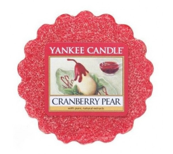 YANKEE CANDLE - wosk CRANBERRY PEAR