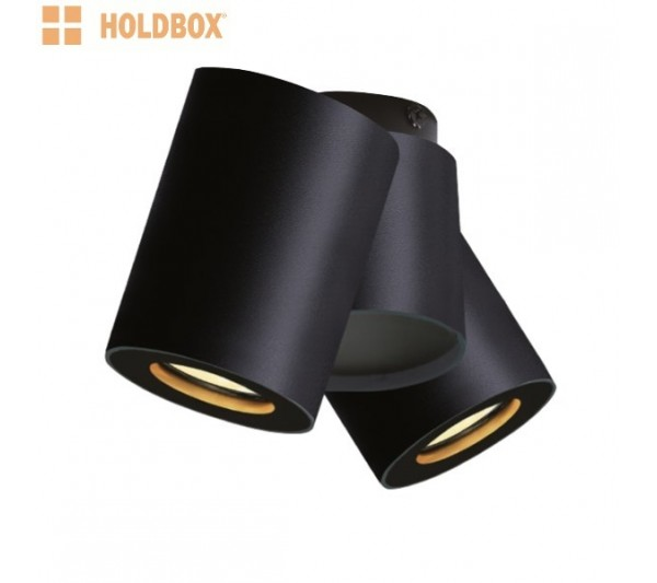 Holdbox - Lampa natynkowa Bari II Celing Black