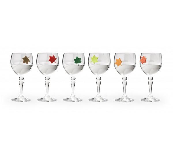 Markery na szklanki 6szt