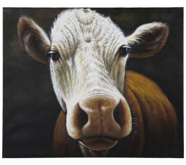 Kare design - Oil Painting Cow 100x120