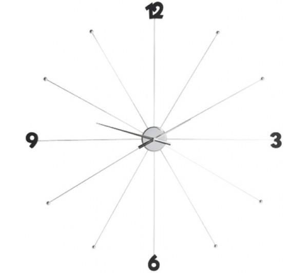 Kare design - Zegar ścienny Umbrella  Chrome