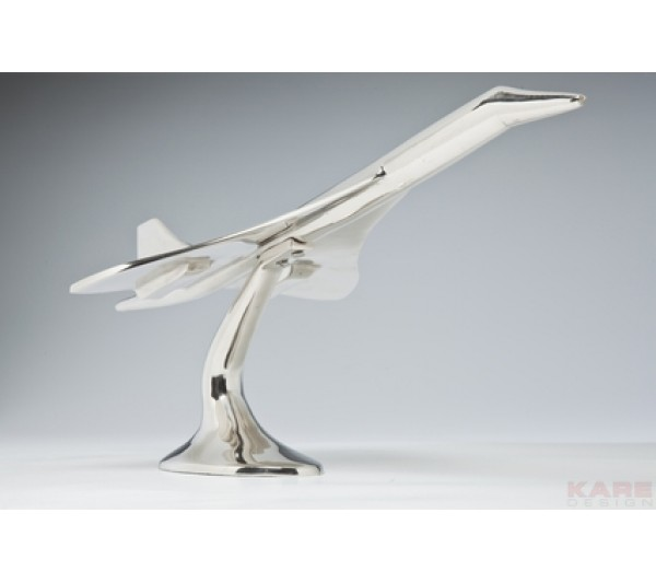 Kare design - Figurka dekoracyjna Concorde 60cm