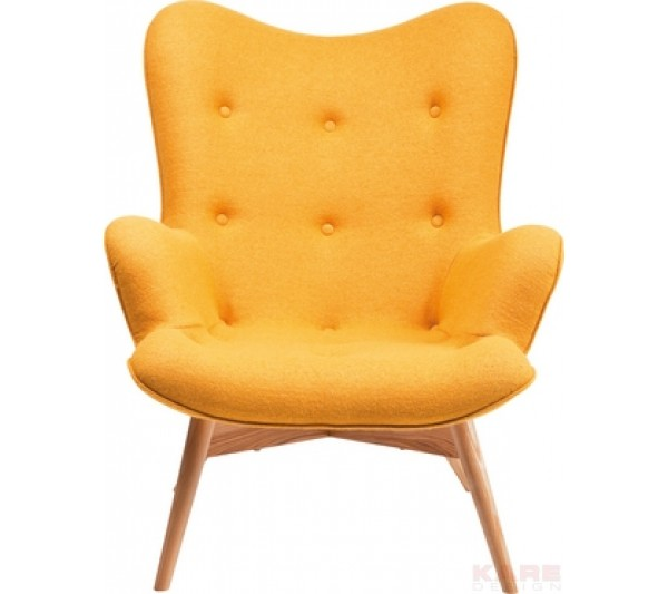 Kare design - Arm Chair Angels Wings Yellow