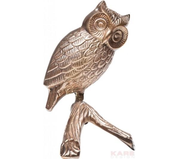 Kare design - Figurka dekoracyjna Owl Bronze