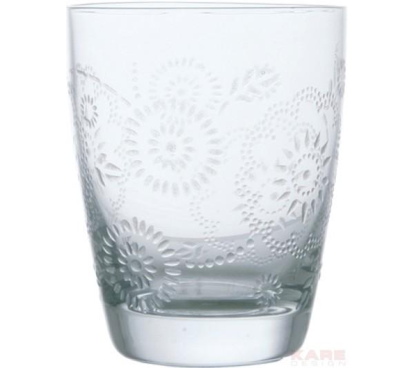 Kare design -Szklanka Iceflower