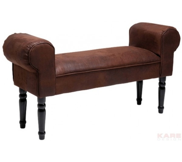 Kare design - Ławka Wing Vintage Brown