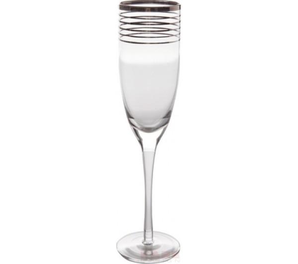 Kare design - Kieliszek do szampana Metropolis Rings