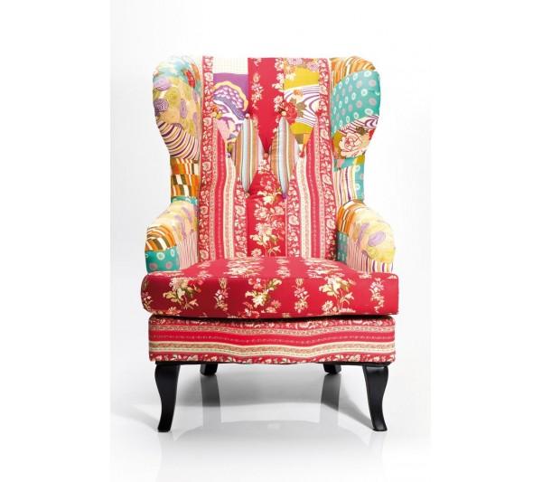 Kare design - Fotel Patchwork