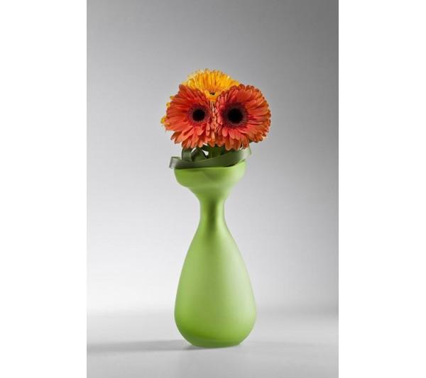 Kare design -Wazon Blow Up Zielony 29cm