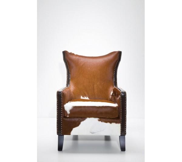 Kare design - Fotel Denver Krowa